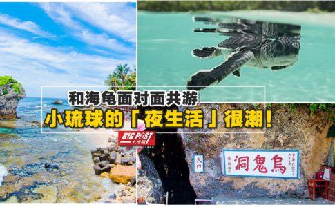 """玩转台湾海上乐园!和海龟面对面共游,小琉球""""夜生活""""很潮!😍来趟说走就走的海岛之旅吧~"""