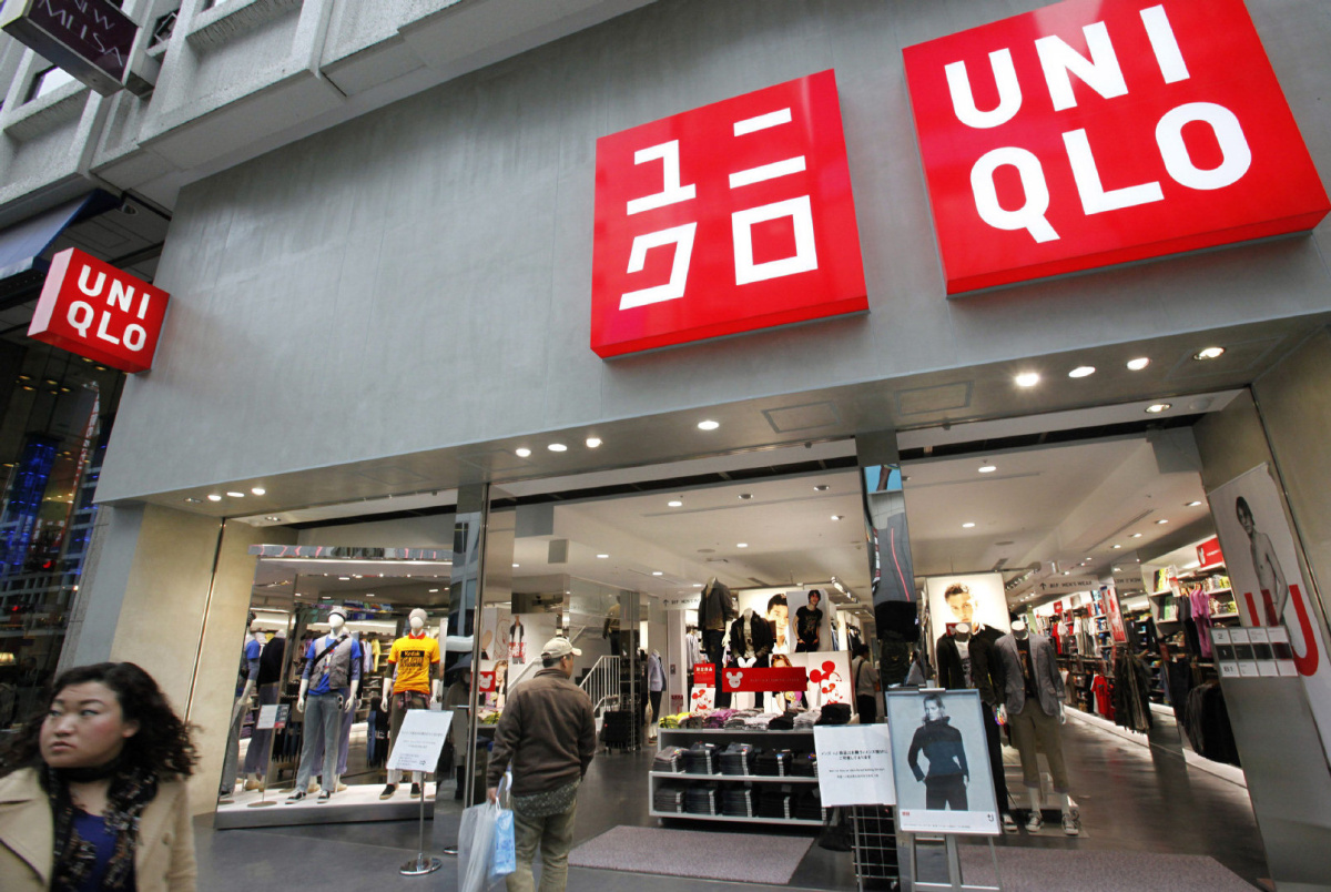 Uniqlo in Japan